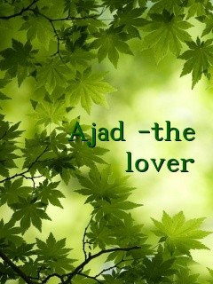 Ajad -the lover Text Wallpaper